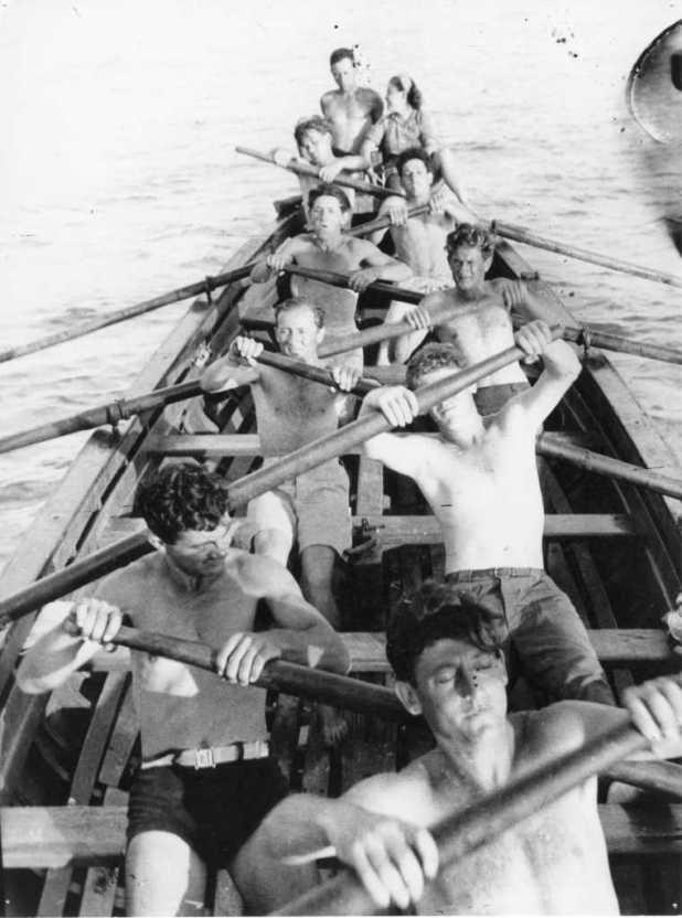Training in Sdot Yam 1944