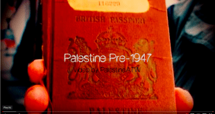 Palestine pre-1948, Palestine before Israel - Screen Shot  from YouTube