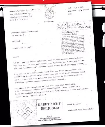 In 1978 letter, US-based neo-Nazis hope JNF will plant \u0027lots of