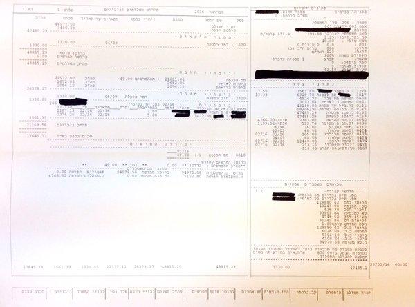 An Accountant\u0027s Review Of Netanyahu\u0027s Pay Slip Israellycool - pay in slips