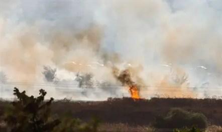 Ogień po ognia rakietowego na Golan