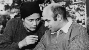 **FILE 1986** Former Soviet refusenik and prisoner, Israeli politician, human rights activist and author Natan Sharansky with his wife Avital after his release from prison in the Soviet Union. He landed in Israel on February 11, 1986. Photo by Moshe Shai/FLASH90.