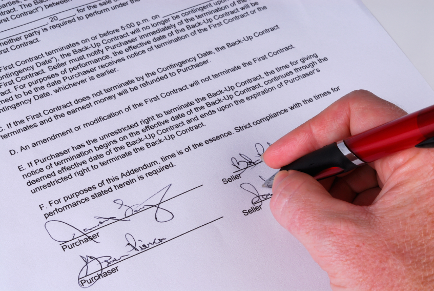 Purchase and Sale Agreement, the Skeletal Structure of Home Buying
