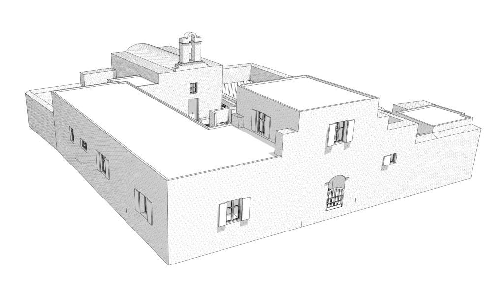 Monastery 3D view 4