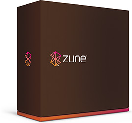 Microsot Zune product box