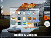 Sidebar & gadgets screencast