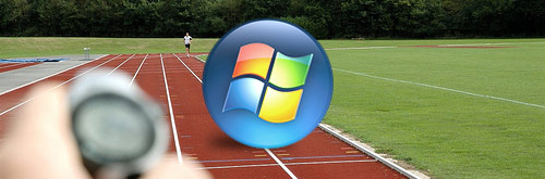 Windows Vista on track