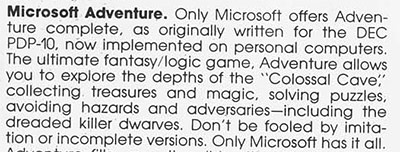 Microsoft Adventure