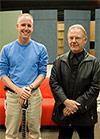 Steve Ball and Robert Fripp
