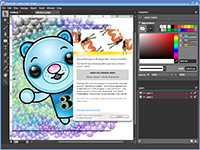 Microsoft Expression Design Beta 2 screenshot