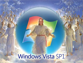 Windows Vista SP1 second coming