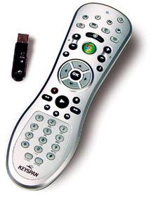 RF Vista Media Center remote from Keyspan
