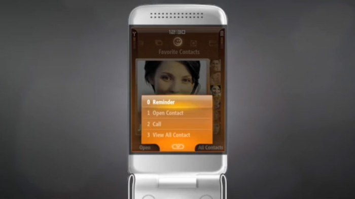 Windows Mobile 7 concept