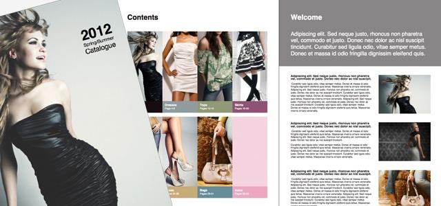 catalogue templates