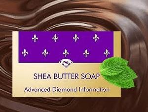 Shea body soap