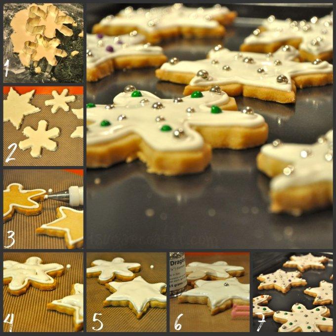 Shortbread Snowflakes