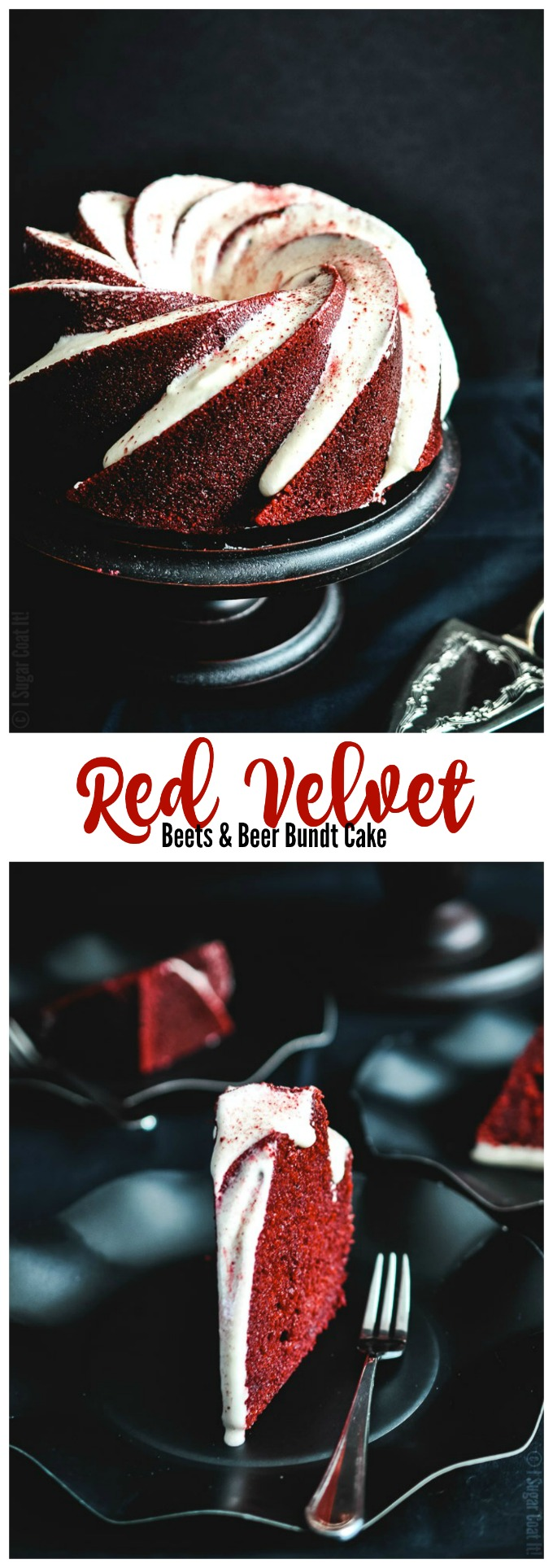 Beets and Beer Red Velvet Bundt Cake