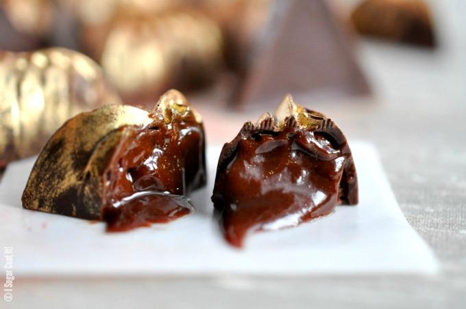Salted Caramel Ganache Dark Chocolate