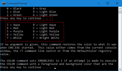 Change Background/Text Color of Command Prompt in Windows 10 – iSumsoft