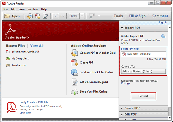 How To Convert Pdf File To A Word Document Online