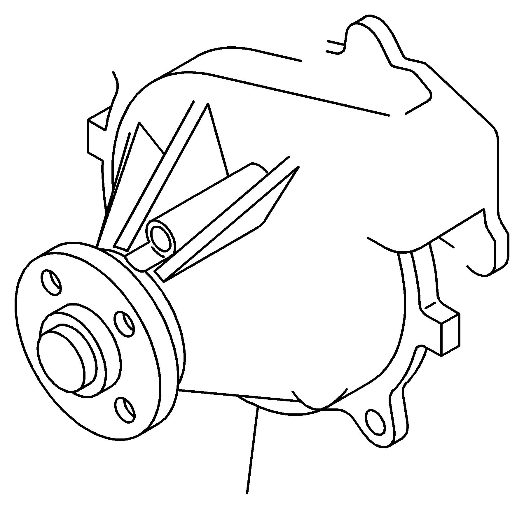 isuzu npr water pump