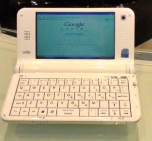 """Handlich, leicht, aber mit einer """"echten"""" Tastatur: das UMID-MID"""