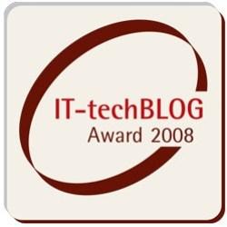 IFA IT-techBLOG Award 2008