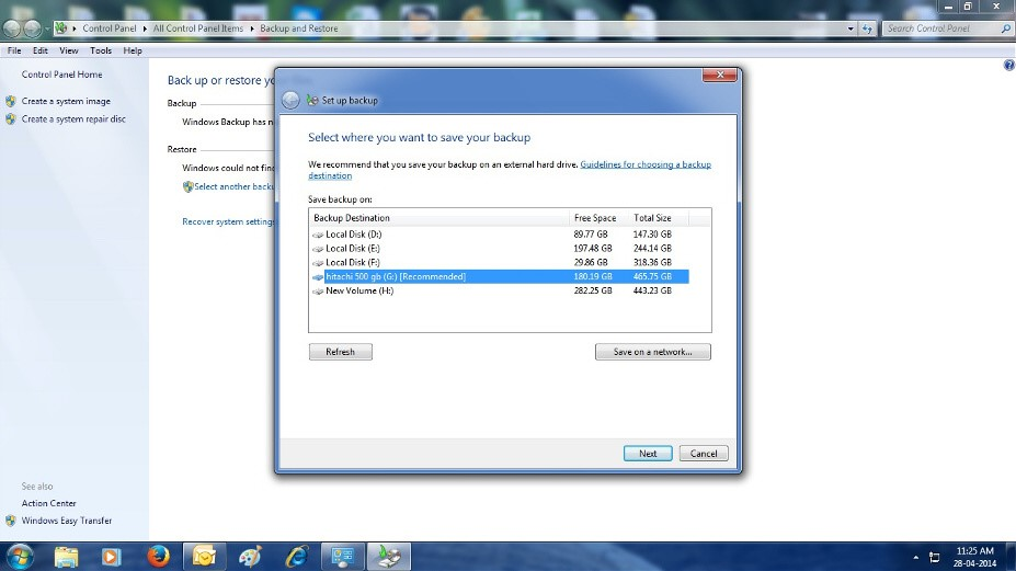 How to configure windows 7 backup automatically in easy steps