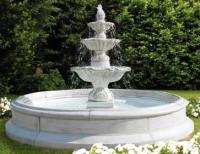 Italian Outdoor Fountains Cast | Large Marble Statue ...