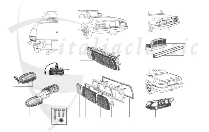 porsche 964 rear fuse box