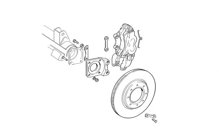 Fiat / Dino Coupe  Spider / Suspension / Brake system - Duetto