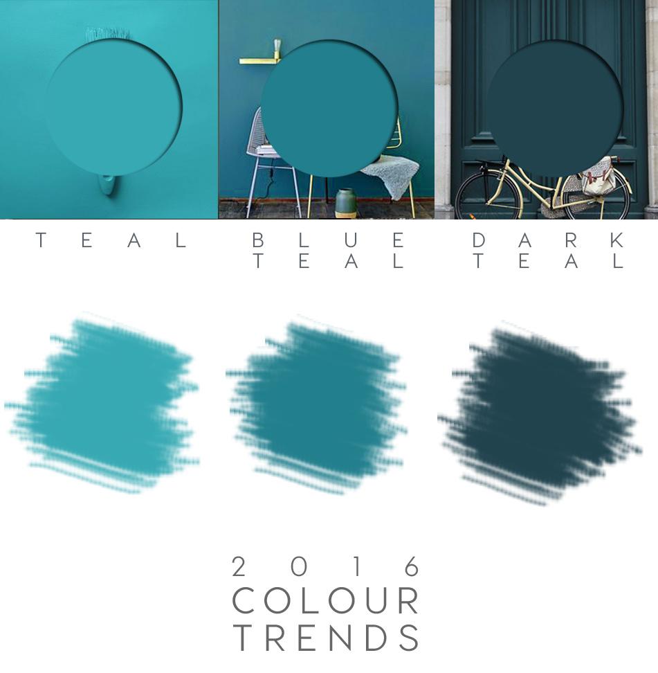 Teal Paint 2016 Interior Trend Italianbark