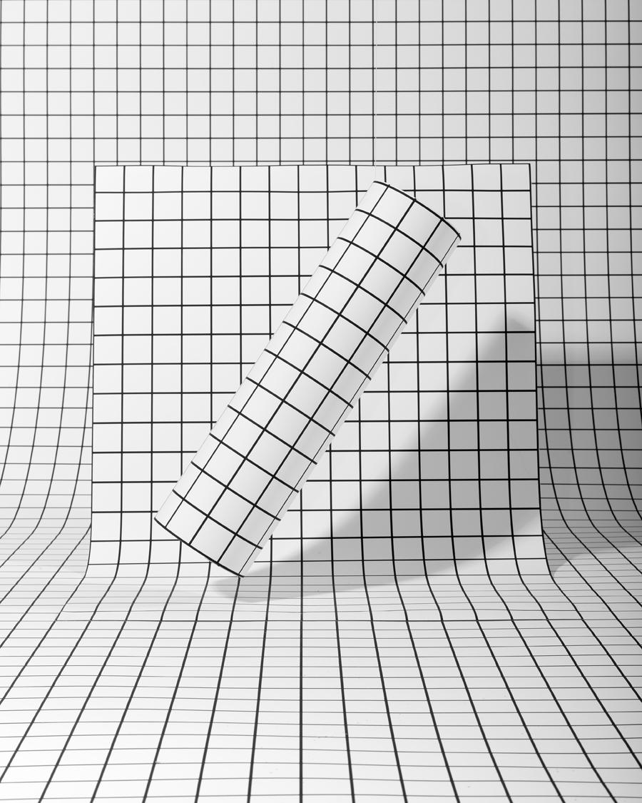 V2 3d Wallpaper Tiles Grid Interior Trend Design Italianbark