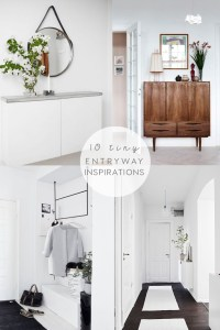 Tiny entryway ideas and inspirations