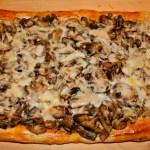 Mushroom Tart with Fontina and Asiago Cheese