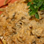 Risotto with Porcini Mushrooms and Mascarpone Cheese