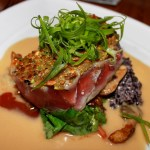 Pineapple Grill's Wasabi Pea and Pistachio Crusted Ahi Tuna