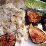 Brown Sugar Roasted Figs Oatmeal