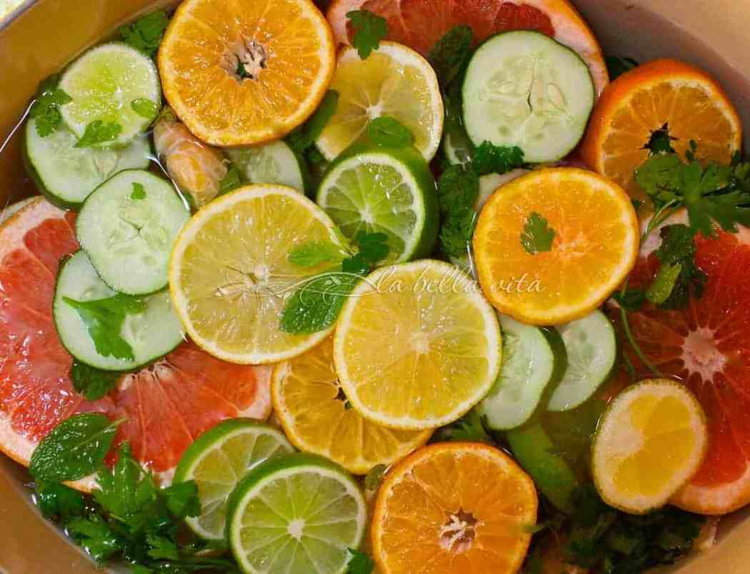 Citrus DeTox Spa Water