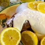 Italian Lemon Dove Cake with Limoncello Cream
