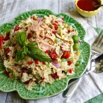 Tuna and Artichoke Pasta Salad — Pasta Fredda, Dining Al Fresco