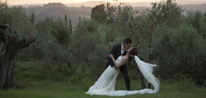 A Wedding in Tuscany an Icon for Italian Destination Weddings