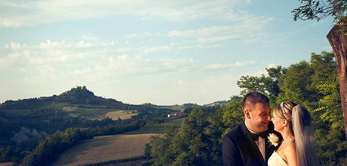 Langhe My Love - A Shiny Wedding overlooking Langhe Vineyards
