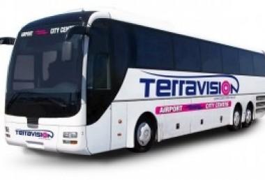 La Terravision non arriva più direttamente a Stansted