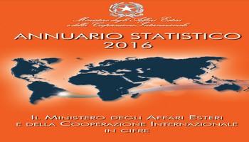 MAECI – ANNUARIO STATISTICO 2016