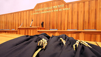 Giudici di pace in piazza contro la riforma della magistratura