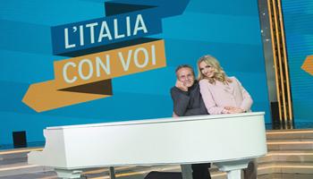 Il saluto agli italiani all'estero del Presidente Mattarella inaugura il nuovo programma di Rai Italia  Ospiti in studio Renzo Arbore e il ministro Enzo Moavero Milanesi