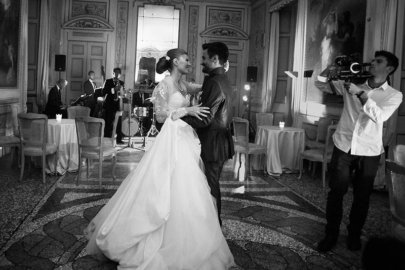 Ceremony and reception wedding music in Italy Sartoria della Musica - wedding music for reception