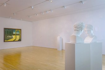 View of the Giorgio de Chirico - Giulio Paolini exhibition at CIMA, 2016. Photo by Walter Smalling Jr.