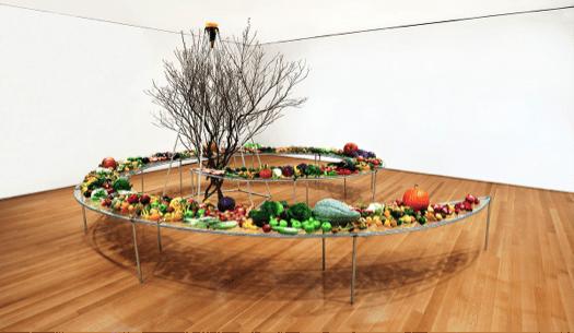 Mario Merz Tavola a spirale (Spiral table), 1982